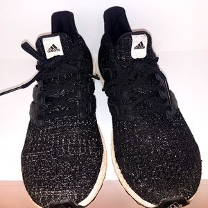 Black speckled ultra boost